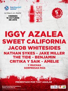 seguro festival coca cola 2015 madrid